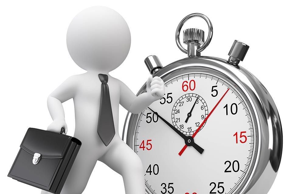 Schnelligkeit beim Unternehmer und bei den Führungspersonen ist zur Entdeckung neuer Geschäftsmöglichkeiten entscheidend.